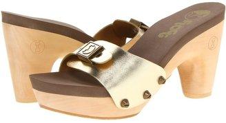 Flogg - Forte (Gold Metallic Leather) - Footwear