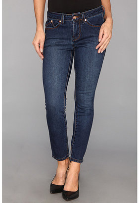 Jag Jeans Petite Petite Drew Ankle in Dark Rainwash