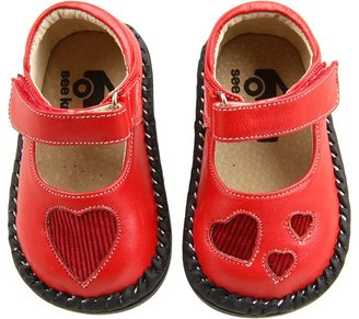 See Kai Run Kids - Annabelle (Infant/Toddler) (Red) - Footwear