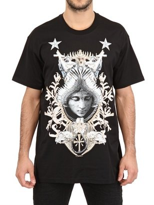 Givenchy Angel Crest Oversized Jersey T-Shirt
