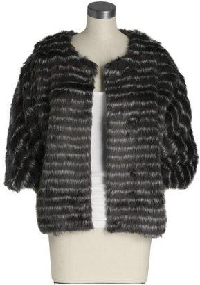 Tibi Faux Fur Coat