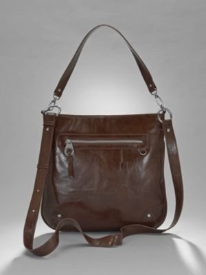 New York & Co. City Style Front Zip Crossover Bag