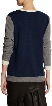 Paul & Joe Gignac color-block cashmere sweater
