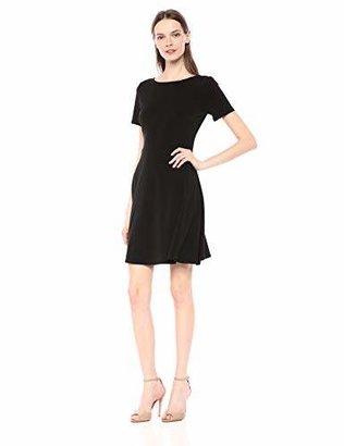 Karen Kane Women's Short Sleeve A-LINE Dress
