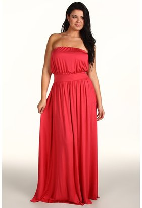 Rachel Pally Plus - Plus Size Talmadge Dress (Strawberry) - Apparel