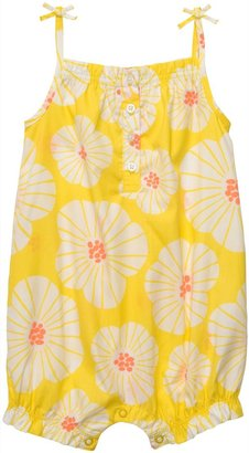 Carter's Infant Woven Romper - Yellow