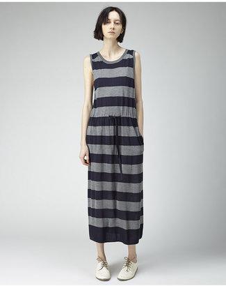 Tsumori Chisato striped silk knit dress