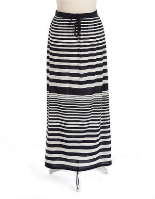 Vince Camuto TWO BY Striped Maxi Skirt