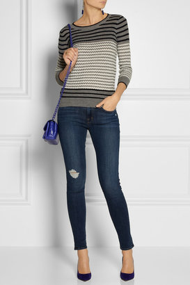 J Brand 620 Super Skinny mid-rise jeans
