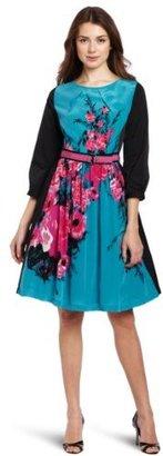 Plenty by Tracy Reese Tracy Reese Women's Contrast Frock Dress
