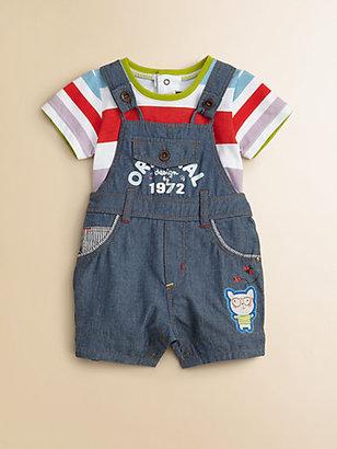Catimini Infant's Denim Overall Shortall