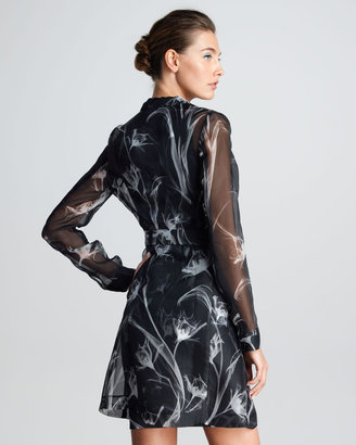Jason Wu Printed Silk Trench