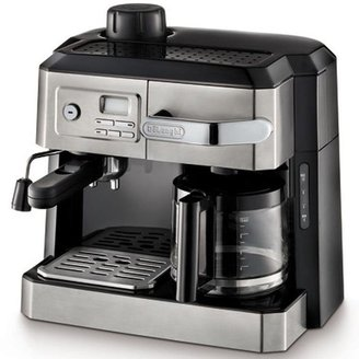 De'Longhi DeLonghi 10-Cup Combination Drip Coffee and Espresso Machine in Stainless Steel