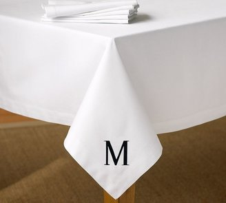 Pottery Barn Caterer's Tablecloth - White