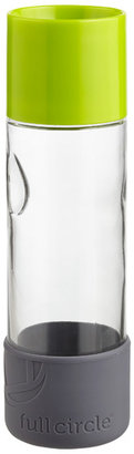 Container Store 19 oz. Day Tripper Glass Bottle Green
