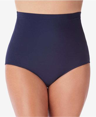 Swim Solutions Ultra High-Waist Swim Bottoms Women Swimsuit