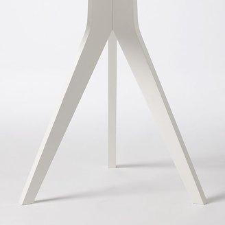 west elm Tripod Table - White