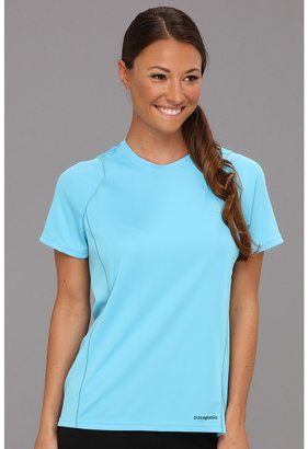 Patagonia S/S Fore Runner Shirt (Sky) - Apparel