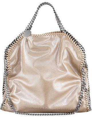 Stella McCartney Falabella Fold-Over Tote Bag, Red Wood Blush $1,150 thestylecure.com