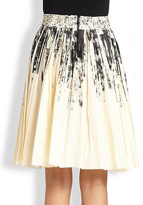 Bottega Veneta Printed Detail Skirt