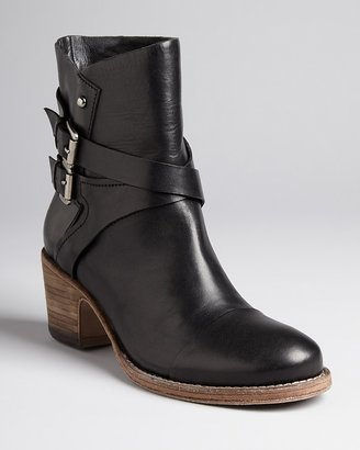 Belle by Sigerson Morrison Buckle Booties - Ashlin