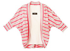 Amy Byer Girls' 7-16 Striped Layered Top