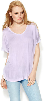 Loomstate Viscose Oversized Crew Neck Tee