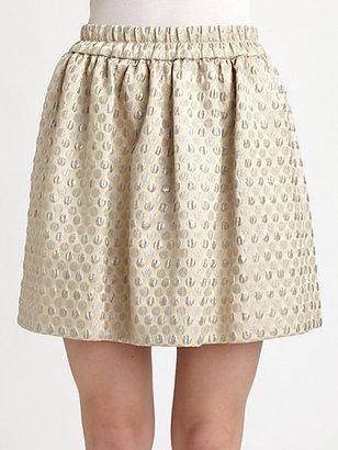 Marc by Marc Jacobs Romy Dot Jacquard Skirt