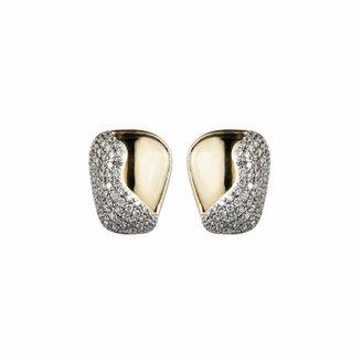 Kara Ross Petra Contour Stud Earrings