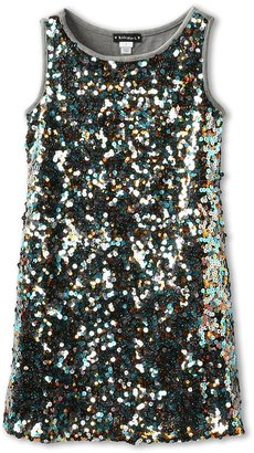 Kate Mack Strike A Pose Sequin Dress (Little Kids) (MLT) - Apparel