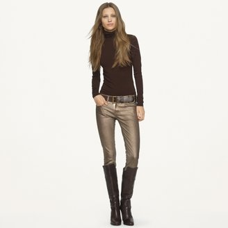 Ralph Lauren Black Label Denim Cropped 400 Matchstick Jean