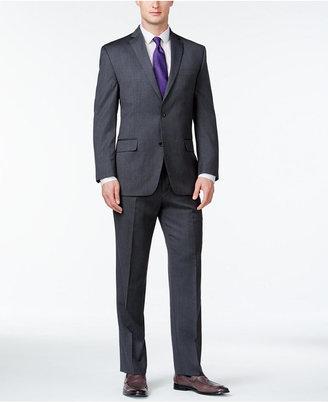 MICHAEL Michael Kors Classic-Fit Grey Suit $595 thestylecure.com