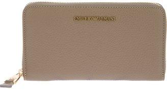 Emporio Armani zip-around wallet