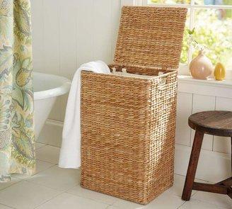 Pottery Barn Seagrass Hamper & Liner- Savannah