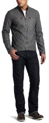 Levi's Men's Faux Leather Motorcross Jacket