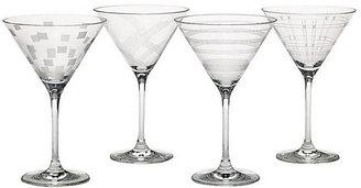 Mikasa Expressions Martini Glasses - Set of 4