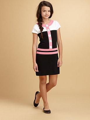 Hartstrings KC Parker by Girl's Colorblock Knit Dress
