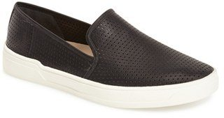 Women's Via Spiga 'Galea' Leather Slip-On Sneaker $175 thestylecure.com