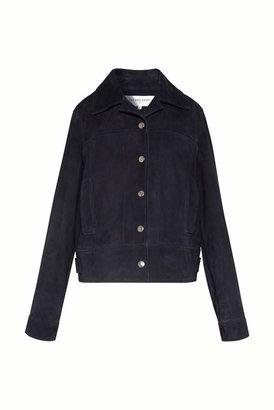 Gerard Darel Short Goat Leather Jacket