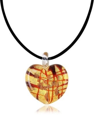 Antica Murrina Passione - Murano Glass Heart Pendant $57.60 thestylecure.com