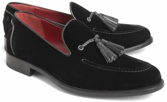 Brooks Brothers Harrys Of London Velvet Tassel Loafers