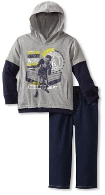 Carter's Boys 2-7 Athletic Design Hoodie with Jean Set