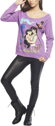 Wet Seal Aladdin Characters Sweatshirt