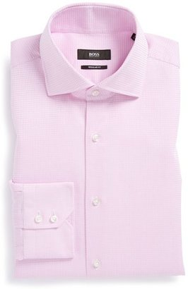 HUGO BOSS 'Gerald' WW Regular Fit Check Dress Shirt