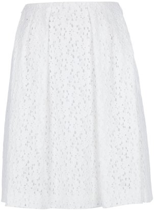 Cacharel pleated lace skirt