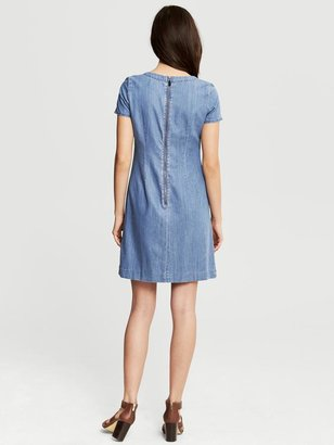 Banana Republic Chambray Shift