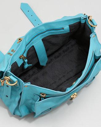 Proenza Schouler PS1 Medium Satchel Bag, Lagoon