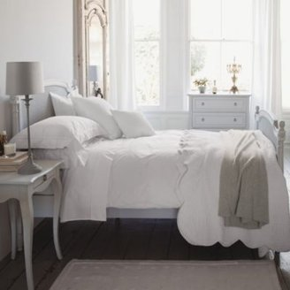 The White Company Provence Cotton Voile Bedspread & Cushion