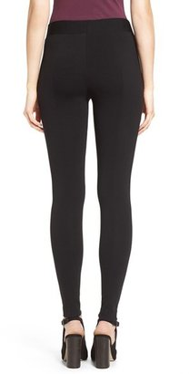 Vince Camuto Petite Women's Two By Seamed Back Leggings