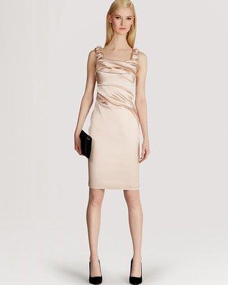 Karen Millen Satin Dress - Signature Stretch